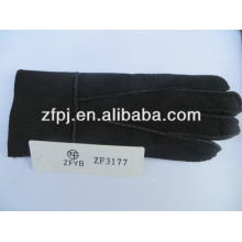 Couro barato luvas de trabalho fabricante na china
