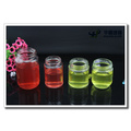 25ml-500ml Clear Round Glass Storage Jars for Honey Jam Candy
