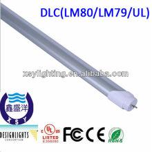 120cm t8 conduziu o tubo claro 20w, UL / CE / ROHS aprovam a luz do tubo, 3 anos de garantia