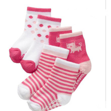 2015 New Style Anti-Slip Cotton Baby Socks