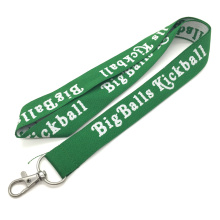 Free Sample Jacquard Polyester Lanyard for Promotion