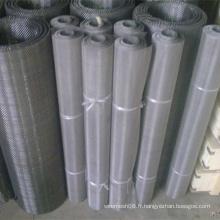 Grillage de fil d'acier inoxydable de largeur maximum