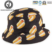 New Design Funny Leisure Sport Bucket Hat with Custom Pattern