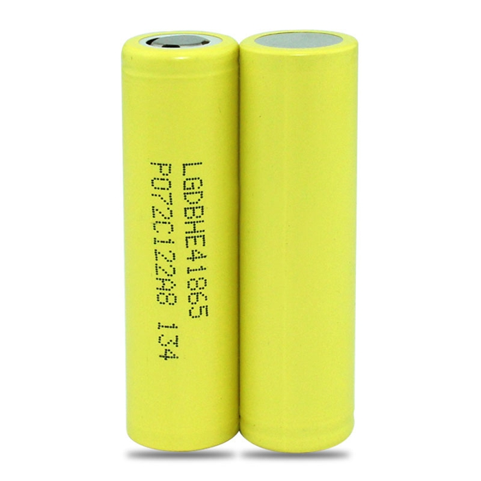 hot selling LG HE4 2500mAh 20A e-cigarette battery