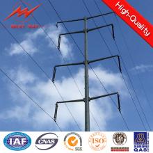 Octogonal 11.8m 500dan CCTV Steel Pole para transmissão de energia