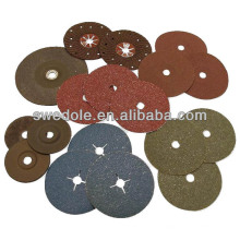 disque bleu de fibre de zircone abrasive pour l'acier inoxydable