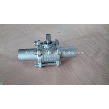 Butt Weld ball valve 1000WOG