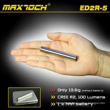 Maxtoch ED2R-5 acero Cree Mini linterna