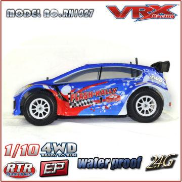 VRX 1/10 escala 4WD alta velocidade Nitro Powered RC modelo carro de corrida