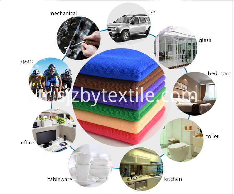 70% Polyester 30% Polyamide Car Towel
