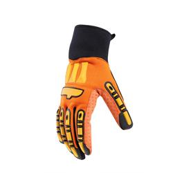 Yellow Or Orange Oil Resistant Gloves