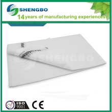 Anti-ácaros descartáveis não-tecidos de cama 70 * 180cm BRANCO
