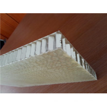Materiales de construcción Paneles de nido de abeja de fibra de vidrio