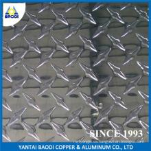China Placa de estribo de aluminio del precio de fábrica