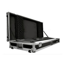 Custom Fireproof madeira compensada Keyboard Flight Case, Road Case