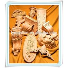 media luna decorativa tallada en madera tallado talla en madera