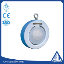 Wafer único disco flúor válvula de retenção