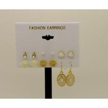 Bijoux nouvelle plume mode boucle d'oreille