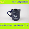 Hot Selling Color Glazed Stoneware Coffee Mug with Customer Decal