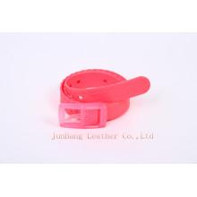 Pop Style Colorful Women′s Plastic Belt