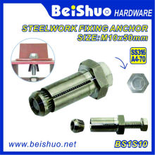 A4-70 Stainless Steel Hex Bolt Sleeve Anchor