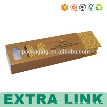 Boîtes-cadeaux magnétiques de chocolat de carton