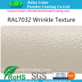 RAL7032 grijze textuur Powder Coating
