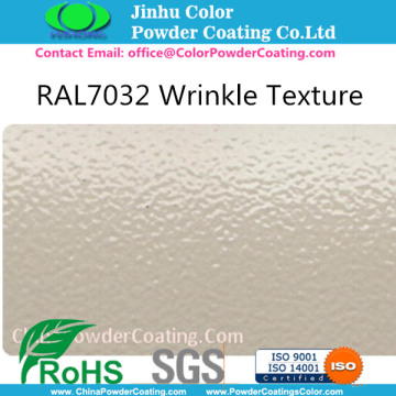 RAL7032 Gray Tekstur Powder Coating