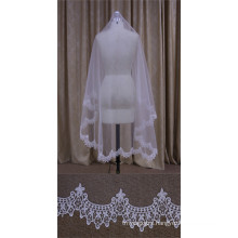 Short Veil with Beautiful Lace