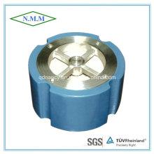 Válvula de retenção tipo wafer silenciosa de ferro fundido