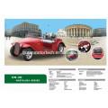 CE-Zertifikat Elektro-Oldtimer 8-Sitzer Golfwagen Schläge Auto für Clubs, Parks Hotels