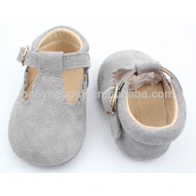 Moda gils prewalker bebé zapatos casuales MOQ300