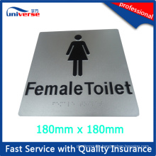Female Toilet Sign / Australia Toilet Sign Board