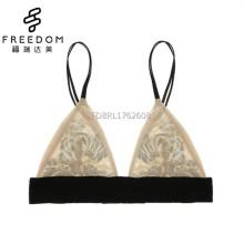 Mesdames à la mode sexy soutien-gorge net définit vente chaude sous-vêtements photos soutien-gorge taille 34 maille triangle bralette