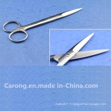 Ciseaux chirurgicaux de haute qualité avec CE approuvé Cr367