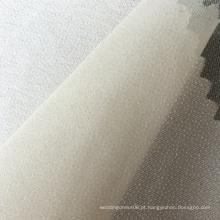 Entrelaçamento fusível de poliéster de camisas de 30 G / M