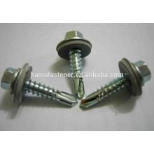 Metalldachschrauben für Holz 2-12 mm, Dachschlitzbohrschrauben