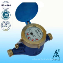 Volumetric Piston Dry Type Brass Brass Water Meter
