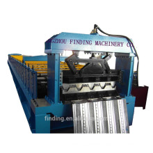Steel structure floor decking forming equipment