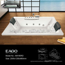 Drop-in Water and Air Bubble Massage Bathtub for Two Person (AM185)