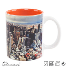 Tasse changeante de couleur de 11oz avec Pringting d'affaire