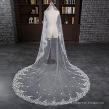 Brand New Cathedral Length 3 Meter Ivory Wedding Bride Veil