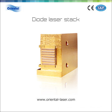 808nm macro channel water cooling system diode laser stack for diode laser hair removal machine price