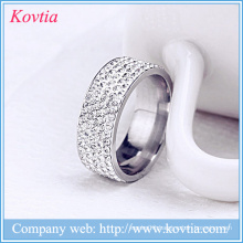 Latest design diamond ring beautiful gold rings designs stainless steel jewelry yiwu
