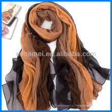 Модный изящный красочный шелковый шаль из пашмины