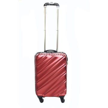 Multi-color business travel luggage set