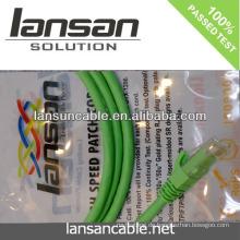 Professionelle Qualität cat6 rj45 Patchkabel 568b / 568a 100% pass Fluke CE UL Zulassung