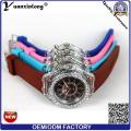 Yxl-694 Силиконовые наручные часы завод оптовой свет кремния браслет наручные часы