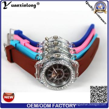 YXL-694 силиконовые часы наручные фабрика Оптовая света кремния Браслеты Браслет