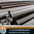 I black Seamless Steel Pipe with plastic